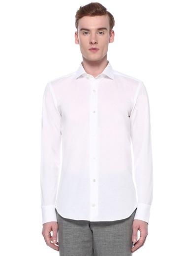 Eleventy Gömlek Beyaz